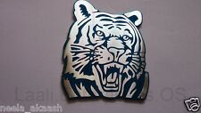 Tiger 3D ALUMINIUM Animal Wild Car Badge Emblem Sticker Bike SUV Sedan Laptop