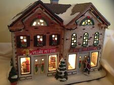 ST NICHOLAS SQUARE Christmas Village PET STORE AND GROOMING SHOP in Box
