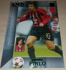 CARD CALCIATORI PANINI 2004/05 MILAN PIRLO CALCIO FOOTBALL SOCCER ALBUM