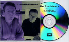 THE PROCLAIMERS Lady Luck/The Doodle Song 2001 UK 3-track promo CD