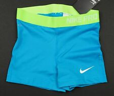 "Nike Women's Md - PRO CORE 3"" COMPRESSION TRAINING SHORTS - Blue 696358 407 M"