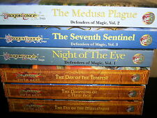 DragonLance 2 COMPLETE Series Lot ~ FIFTH AGE ~ DEFENDERS OF MAGIC Trilogy