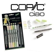 Copic ciao 5+1, manga set 6-art graphique marqueurs - 5 marqueurs + 0.3 multiliner