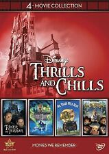 Disney 4-Movie Collection: Thrills and Chills (Haunted Mansion, Tower Of Terror,