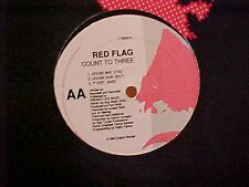 """Red Flag Count To Three 6 mixes Us Dj 12"""""""