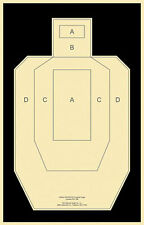 "Official USPSA / IPSC Practice Targets [22.5"" x 34.5""] (100 targets)"