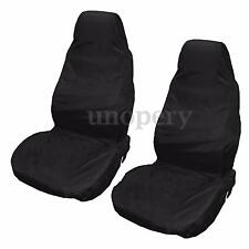 2x Waterproof Universal Front Car Auto Seat Cover Protectors Heavy Duty Nylon
