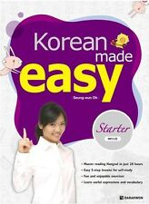 KOREAN MADE EASY STARTER *LEARNING TEXT BOOK WITH MP3 CD* LEARN LANGUAGE