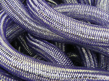 PURPLE PEWTER METALLIC TUBULAR CRIN CYBERLOX SILVER DREADS CYBER CYBERGOTH