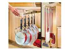 Pot Pan Holder Rack Kitchen Utensil Cookware Hanger Hanging Organizer Pots Pans
