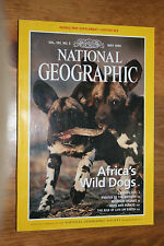 May 1999 National Geographic Magazine: Africa's Wild Dogs Capian Sea Ants/Plants