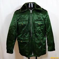 BLAUER Vintage Military Tufnyl Water Resistant JACKET Coat Mens M 40 Green liner
