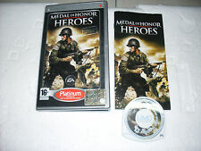 GIOCO UMD  PLAYSTATION PORTABLE MEDAL OF HONOR HEROES - PSP PORTATILE