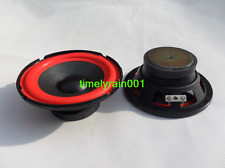 "1pcs 5""inch 4ohm 30W woofer Car speakers Subwoofer horn speaker 130mm"