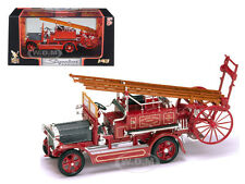1921 DENNIS N TYPE FIRE ENGINE RED 1/43 DIECAST MODEL BY ROAD SIGNATURE 43008