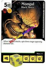 093 MONGUL Black Mercy - Uncommon - WAR OF LIGHT - DC Dice Masters