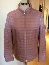 Gerry Weber Jacket Size 10 BNWT Dusky Pink Zipped RRP £160 Now £72