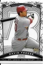 David Freese RC 2009 Bowman Sterling #BS-DFR St. Louis Cardinals Rookie Card