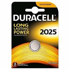 Duracell CR2025 3V Lithium Coin Cell Battery DL2025 BR2025