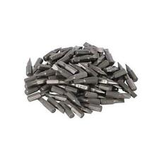 Silverline Slotted Cr-V Screwdriver Bits 100pk 6mm DIY Power Tool Accessories
