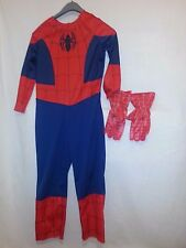 AMAZING SPIDERMAN MARVEL YOUTH CHILD MEDIUM 8-10 HALLOWEEN COSTUME w/ GLOVES