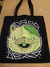 Drop Dead Clothing Kitty Brainz Tote Black Bag New Rare Sold Out