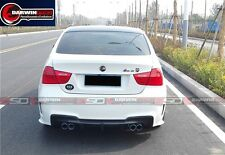 2009-2012 BMW 3 Series E90 4DR Sedan LCI Rear Bumper With Carbon Fiber Rear Diff