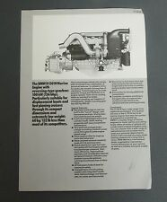 Vintage 1982 BMW D150W MARINE ENGINE Flyer boats fast planing cruiser photo ad