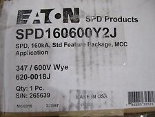 NEW EATON SPD160600Y2J SURGE PROTECTOR NEW IN BOX.