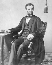 New 11x14 Photo: President Abraham Lincoln Portrait Prior to Gettysburg Address