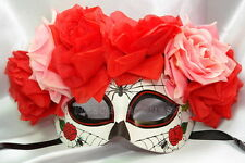 Día de Muertos Day of the Dead Wall Deco costume Prom party Masquerade ball mask