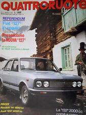 Quattroruote 256 1977 Confronto Golf benzina e diesel. La 132 2000 cc. 127 [Q93]