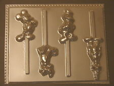 Mickey Mouse Pluto Goofy Donald Lollipop Chocolate Candy Soap Crayon Mold