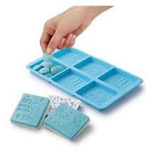 Disney's Frozen Silicone Bark Mold 6 Cavity Candy Treat Wilton