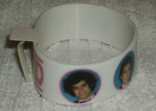 RUBBER WRISTBANDS *** ONE DIRECTION *** NEW - 25 cm - COLOUR MAINLY WHITE