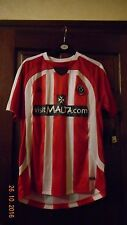 BOYS FOOTBALL SHIRT- SHEFFIELD UNITED - XXLB - CHEST 30/32 - HOME 2008/09 - BNWT