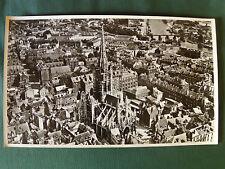 ROUEN (Seine-Maritime) - les villes - PHOTO AERIENNE  27 x 45 cm (1958 LAPIE)