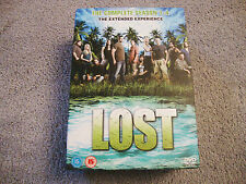 LOST DVD VIDEO  SET COMPLETE  SEASONS 1 - 4 786936300468