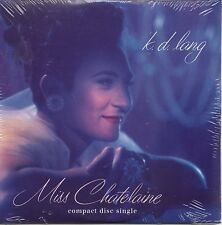 CD Single K.D. LANG Miss Chatelaine 4-Track CARD SLEEVE  NEW SEALED RARE