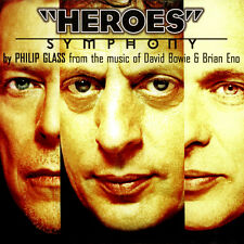 PHILIP GLASS HEROES SYMPHONY NEW SEALED 180G LP IN STOCK DAVID BOWIE BRIAN ENO