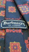 "Vintage Authentic, Burberrys London, Silk, Navy, Ancient Madder, Neck Tie (60"")"