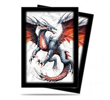 60ct Black Dragon-Art Deck Protector Sleeves Yugioh Size 62 x 89mm Ultra Pro