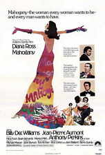 MAHOGANY Movie POSTER 27x40 Diana Ross Billy Dee Williams Jean-Pierre Aumont