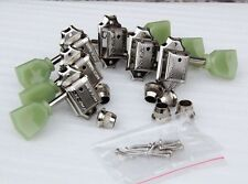 WILKINSON Vintage Kluson Style Keystone 3 Per Side 3x3 TUNERS CHROME For