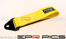 TRS Universal Tow Strap Yellow Colour for Opel Vauxhall Corsa Vectra Astra VXR