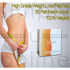 30 X EXTRA STRONG FAST ACTING MAGNETIC SLIM PATCH WEIGHT LOSS DIET AID PATCHES