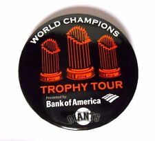 2014 San Francisco Giants Baseball World Series Trophy Madison Bumgarner Pin