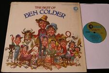 The Best Of Ben Colder-1968 Country Parody LP w/Jack Davis Cover Art-Sheb Wooley