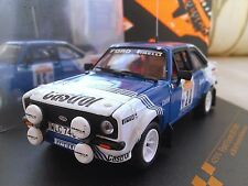 #28 1981 Ford Escort RS1800 Presotto Sanremo Rally Diecast Rally 1/43 Vitesse