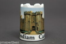 Bodiam Castle England Castle-Top China Thimble B/134